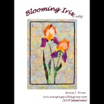 Blooming Iris Quilt Pattern