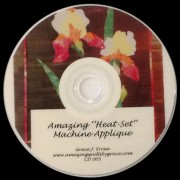 Heat Set Machine Applique - CD