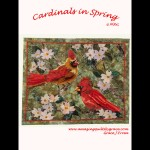 Cardinals in Spring Quilt Pattern
