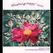 Blushing Poppy Quilt Pattern