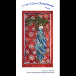 Cool Blue Christmas Quilt Pattern