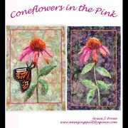 Coneflowers in the Pink Quilt Pattern