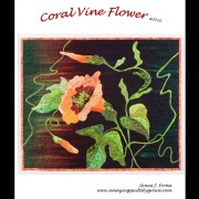Coral Vine Flower Pattern