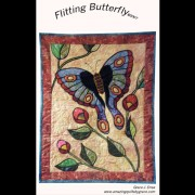 Flitting Butterfly Quilt Pattern
