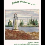 Point Beacon Lighthouse Quilt Pattern
