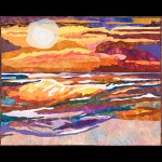 Popsicle Sunset Quilt