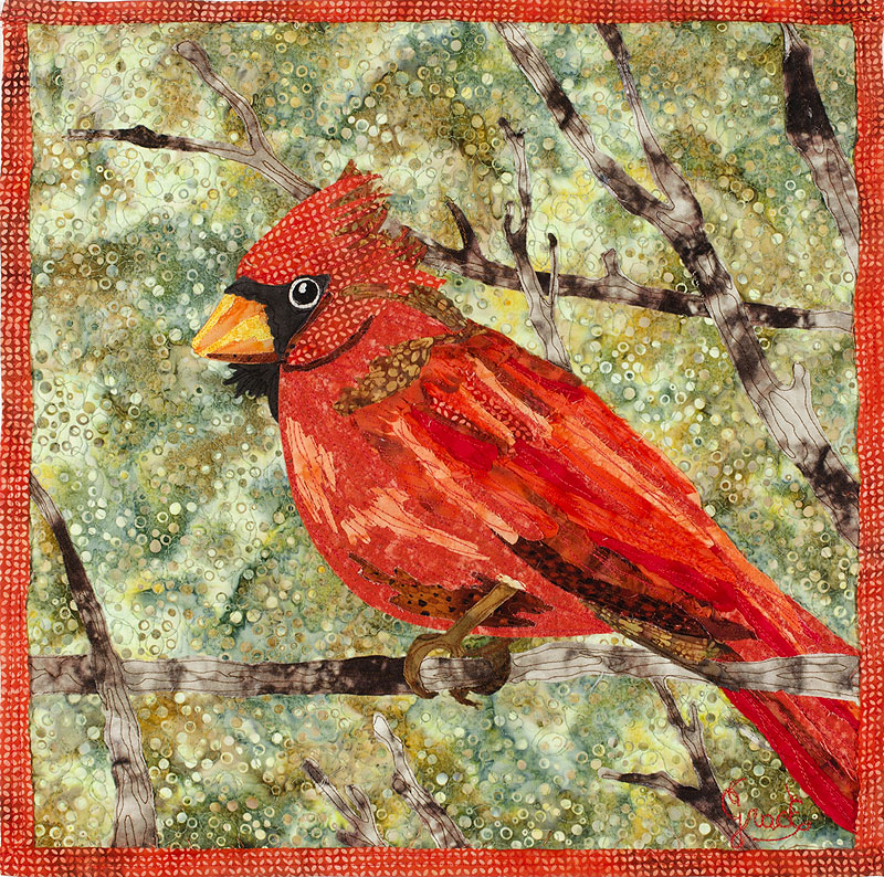 Amazing Quilts by Grace » Gallery : cardinal quilt - Adamdwight.com
