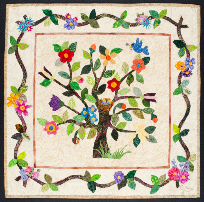 Seasons Quilt - Spring